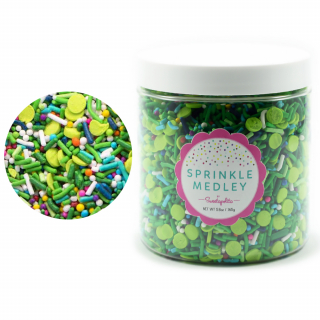 "Посыпка Twinkle Sprinkle ""Доброе утро"" (TOP O' THE MORNIN', Vegan/GF) без глютена, 165г"